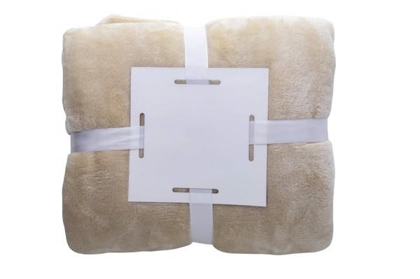 Flannel Blanket Espoo - Beige