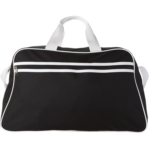 Sportovní taška San Jose - Černá / Bílá