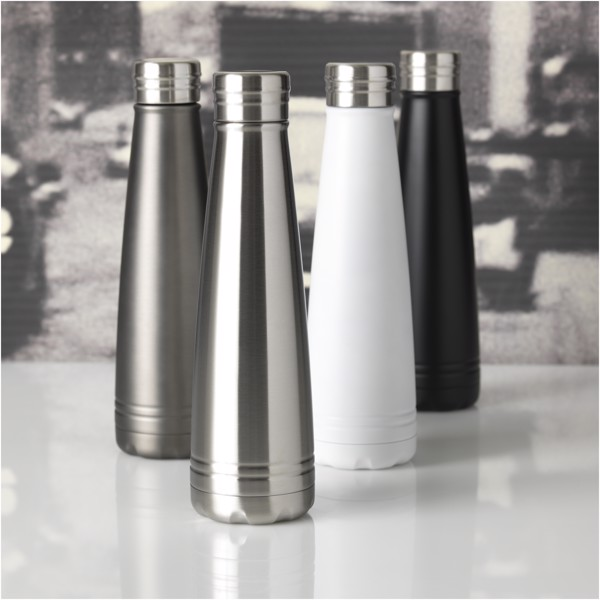 Duke 500 ml copper vacuum insulated sport bottle - Grey