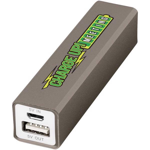 Volt 2200 mAh power bank - Titanium