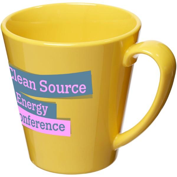 Supreme 350 ml plastic mug - Yellow