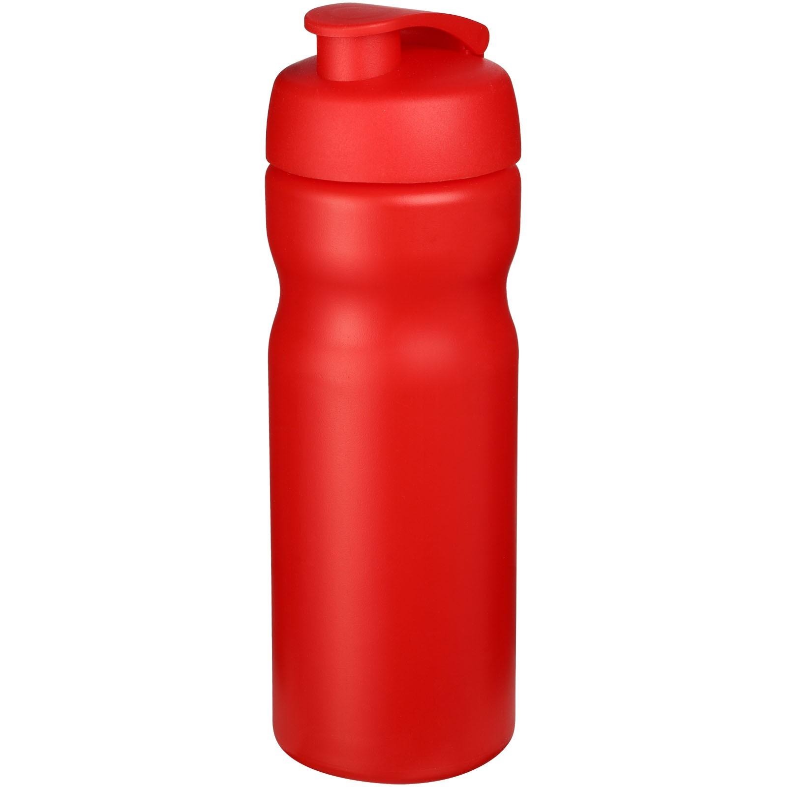 Baseline® Plus 650 ml flip lid sport bottle - Red