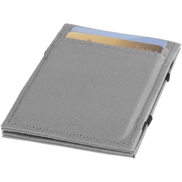 Adventurer RFID secure flip-over wallet - Grey