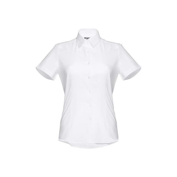 THC LONDON WOMEN WH. Camisa oxford para mujer - Blanco / XXL