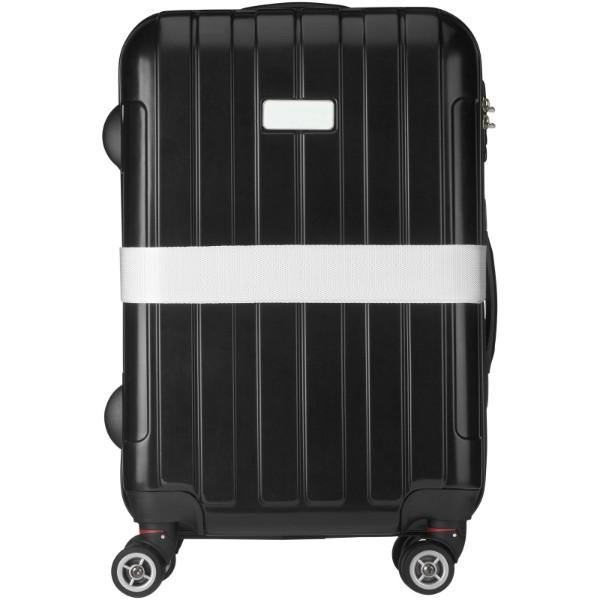 Popruh Saul na kufr - Bílá