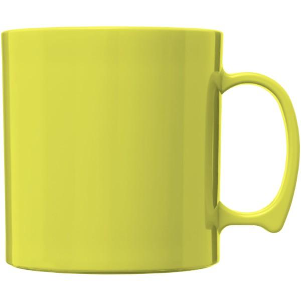 Standard 300 ml plastic mug - Lime