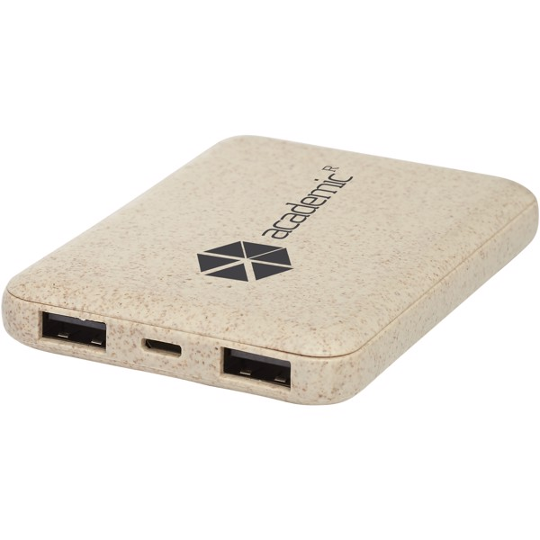 Asama 5000 mAh wheat straw power bank