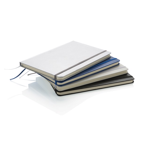 Basic keményfedelű A5-ös simalapú vázlatfüzet - Fehér