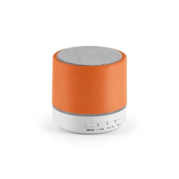 PEREY. Φορητό ηχείο με μικρόφωνο - Πορτοκάλι