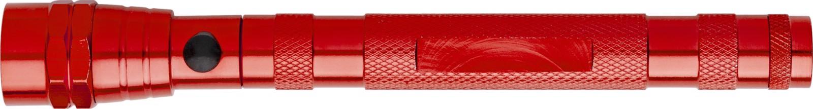 Aluminium torch - Red