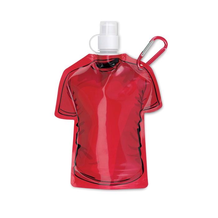 T-shirt foldable bottle Samy - Red