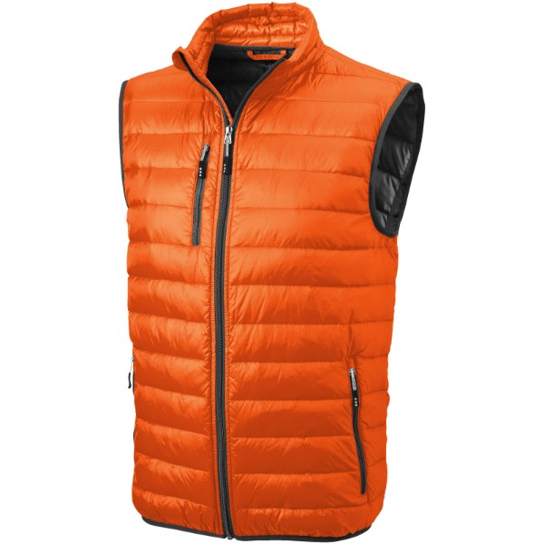 Fairview light down bodywarmer - Orange / XS