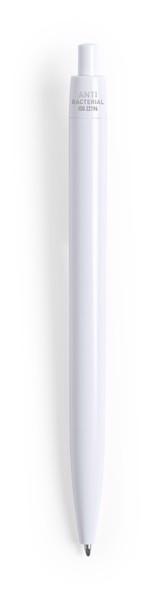 Bolígrafo Antibacteriano Licter - Blanco