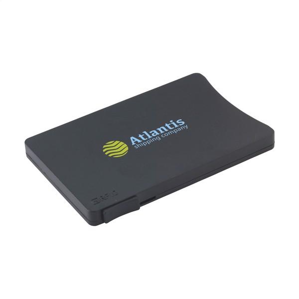 RFID Visita Slide card holder - Black
