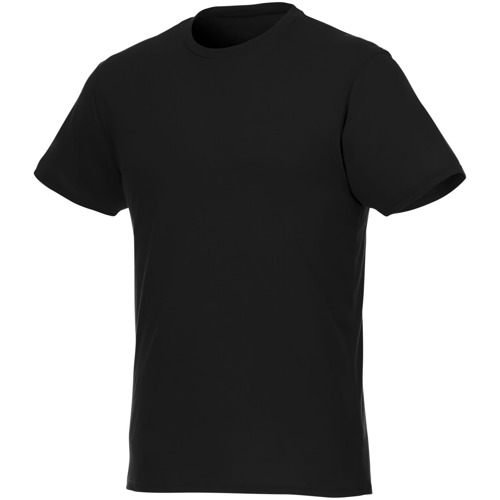 Jade short sleeve men's GRS recycled T-shirt - Solid Black / XL