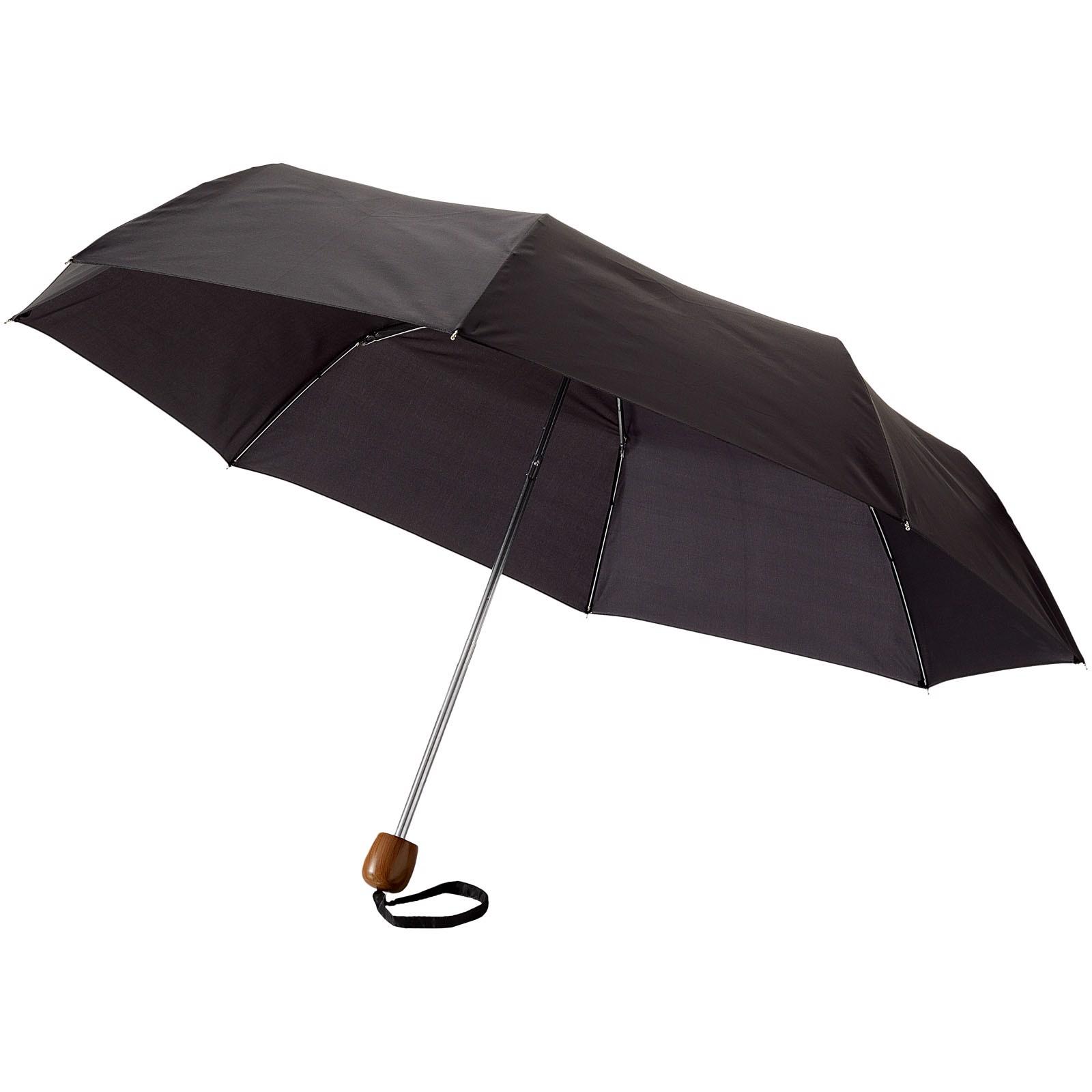 """21,5"""" skládací deštník Lino - Černá Sytá"""