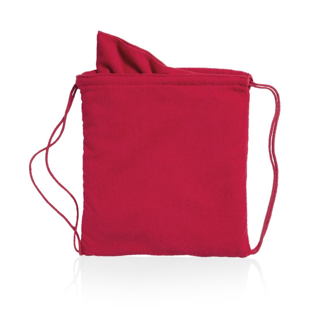 Drawstring Towel Bag Kirk - Red