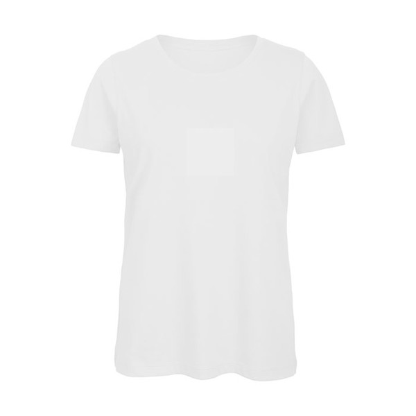 Ladies T-Shirt 140 g/m2 T-Shirt Women - White / S