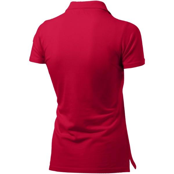 Dámská polokošile Advantage s krátkým rukávem - Červená s efektem námrazy / L