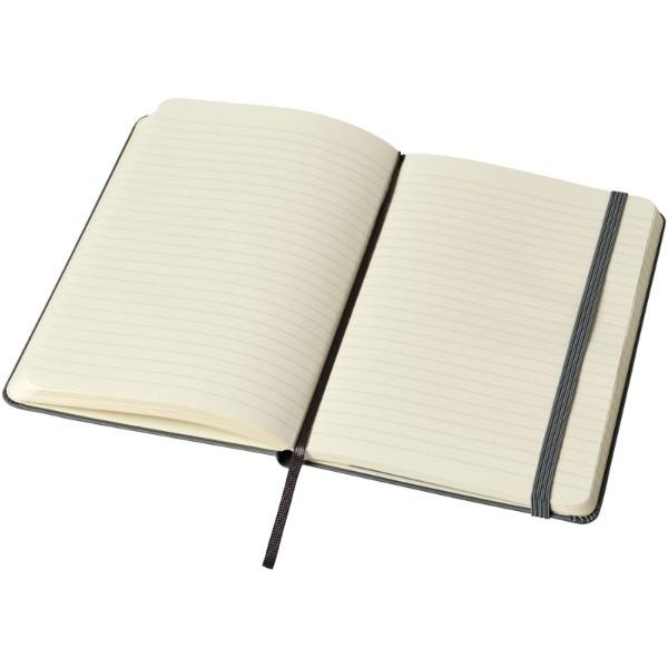 Classic M hard cover notebook - ruled - Slate Grey