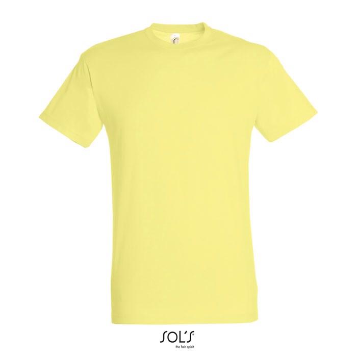 REGENT CAMISETA UNISEX 150g - amarillo pálido / XL