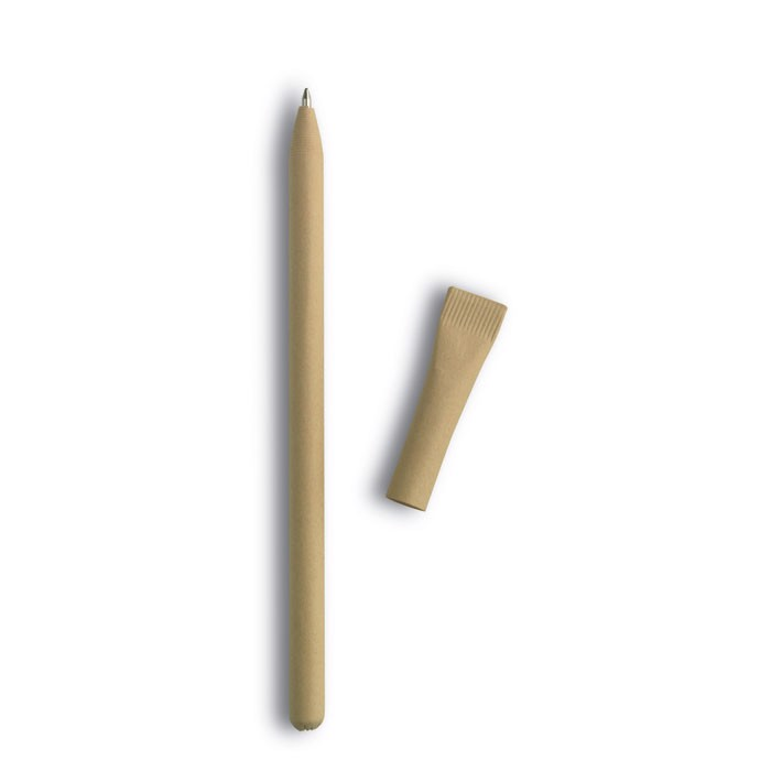 Recycled paper ball pen Artel - Beige