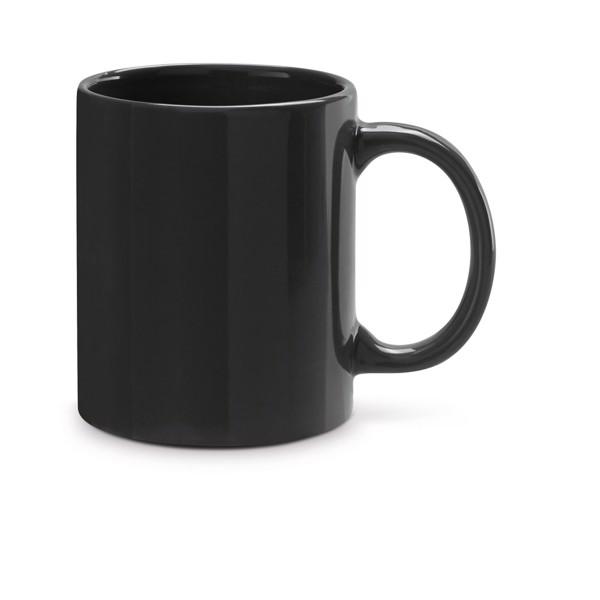BARINE. Keramický hrnek 350 ml - Černá