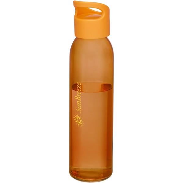 Sky 500 ml glass sport bottle - Orange