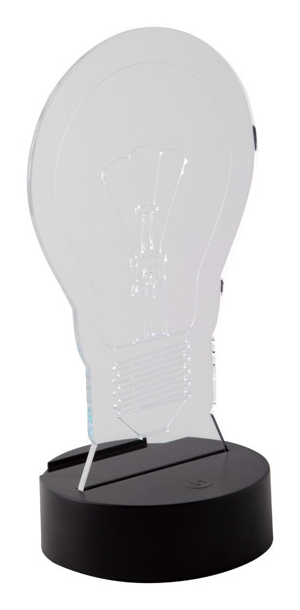 Led Light Trophy Ledify - Transparent / Black