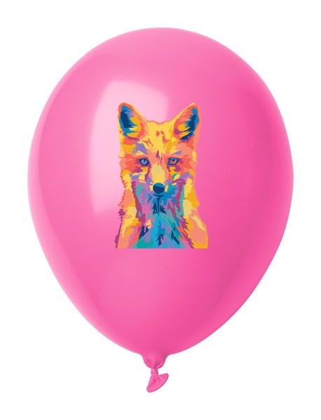 Balonky V Pastelových Barvách CreaBalloon - Růžová