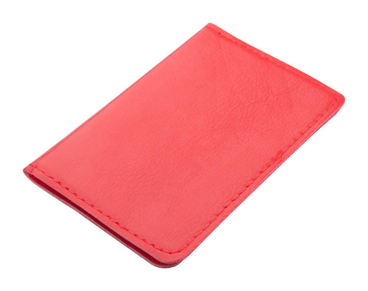 Pouzdro Na Karty Twelve - Červená