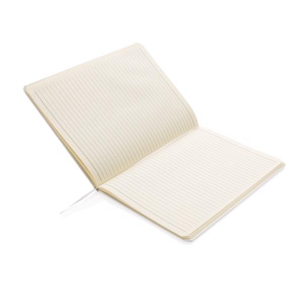 Standard B5 keményfedelű jegyzetfüzet XL - Fehér