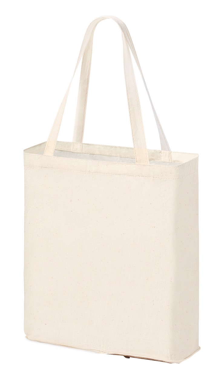 Foldable Shopping Bag Dylan - Natural / White