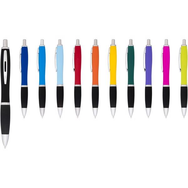 Kuličkové pero Nash, pogumované - 0ranžová
