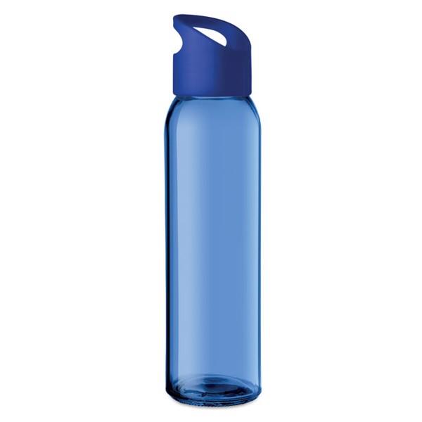 Glass bottle 470ml Praga - Royal Blue