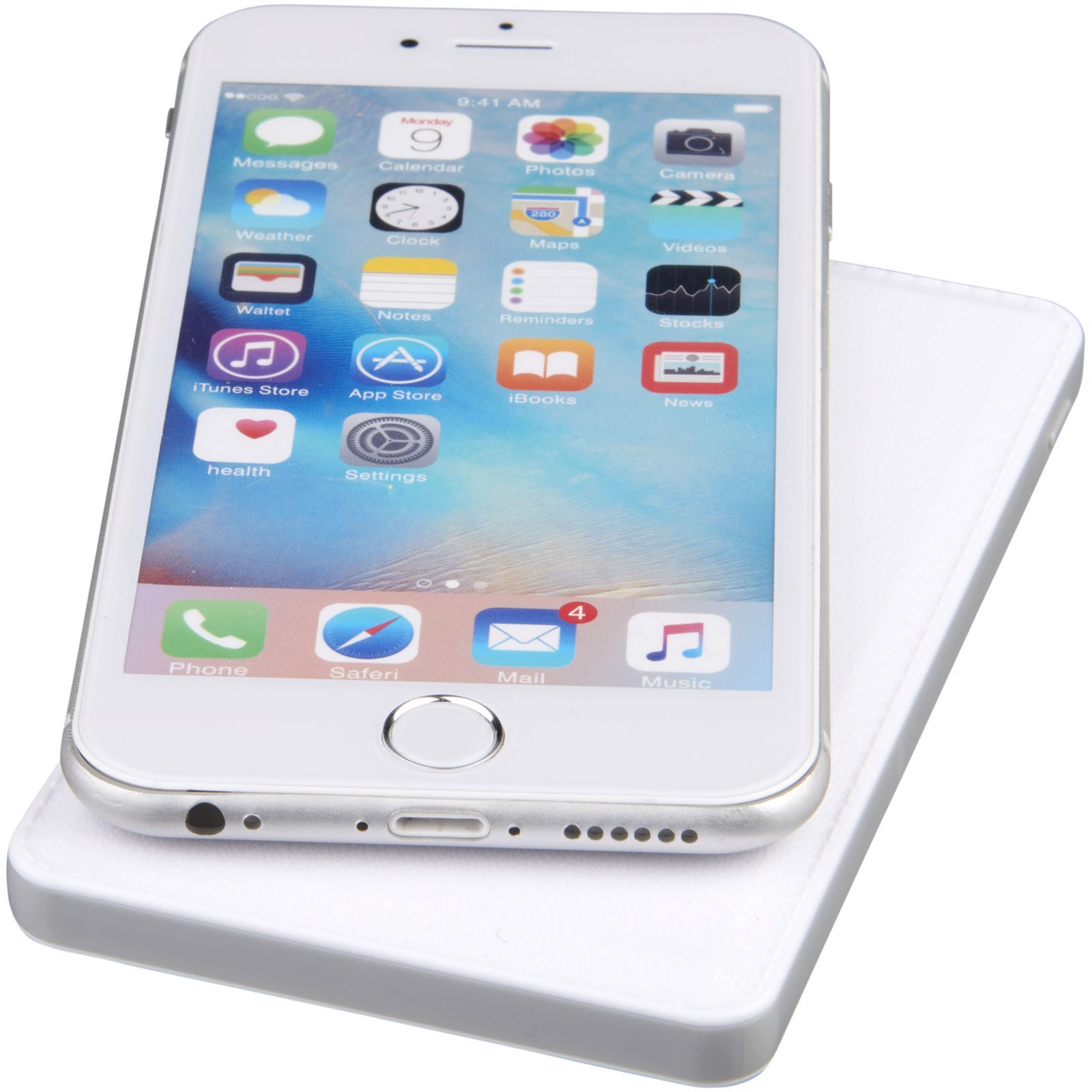 Phase 3000 mAh wireless power bank - White