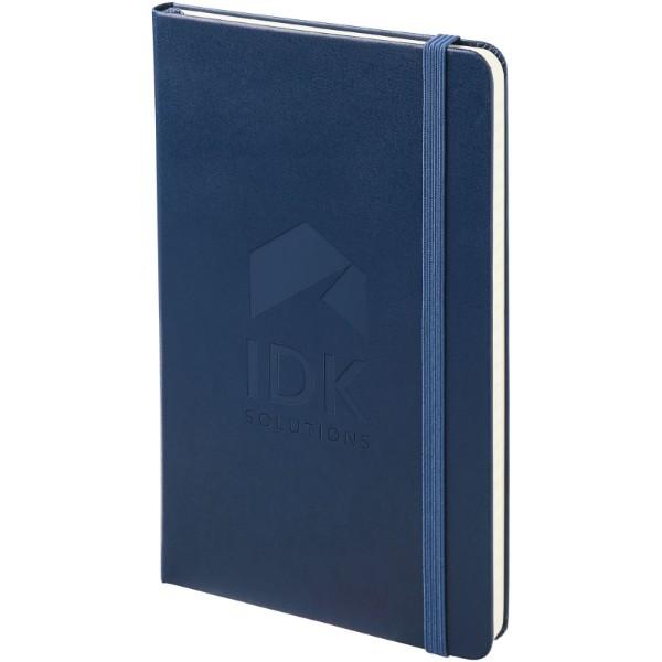 Classic L hard cover notebook - ruled - Sapphire blue