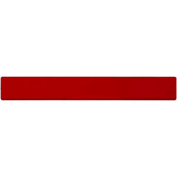 Renzo 30 cm plastic ruler - Red