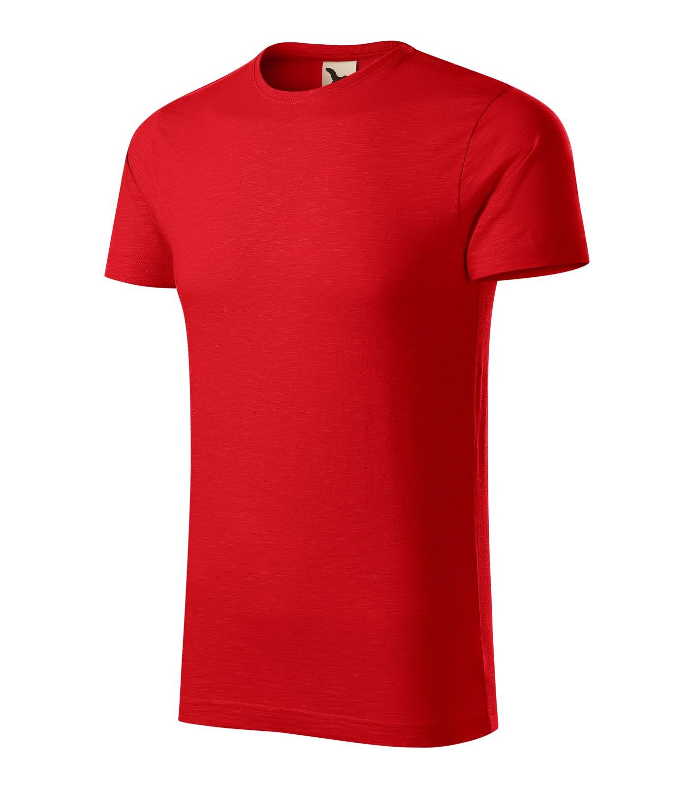 Tričko pánské Malfini Native - Červená / XL