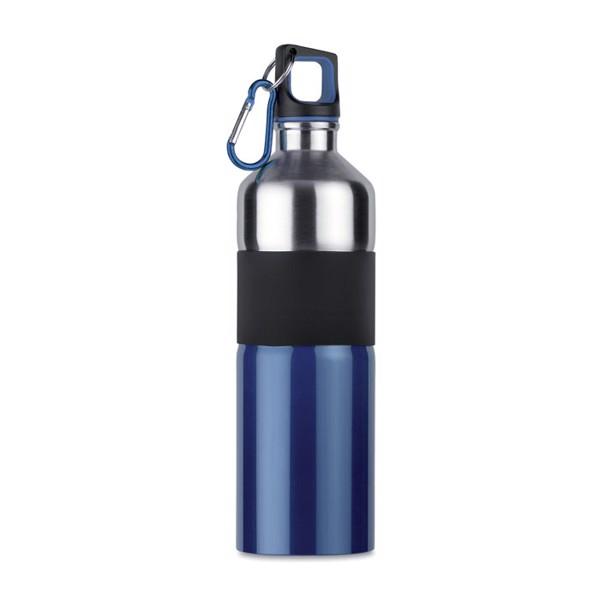 Botella de acero inox. 750 ml Tenere - azul