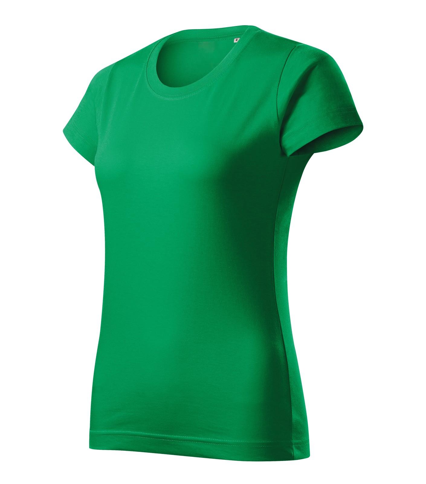 T-shirt women's Malfini Basic Free - Kelly Green / 2XL