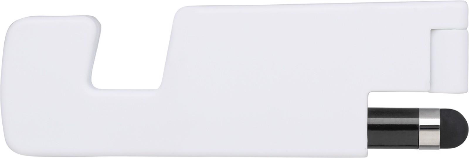Plastic foldable mobile phone holder - Black