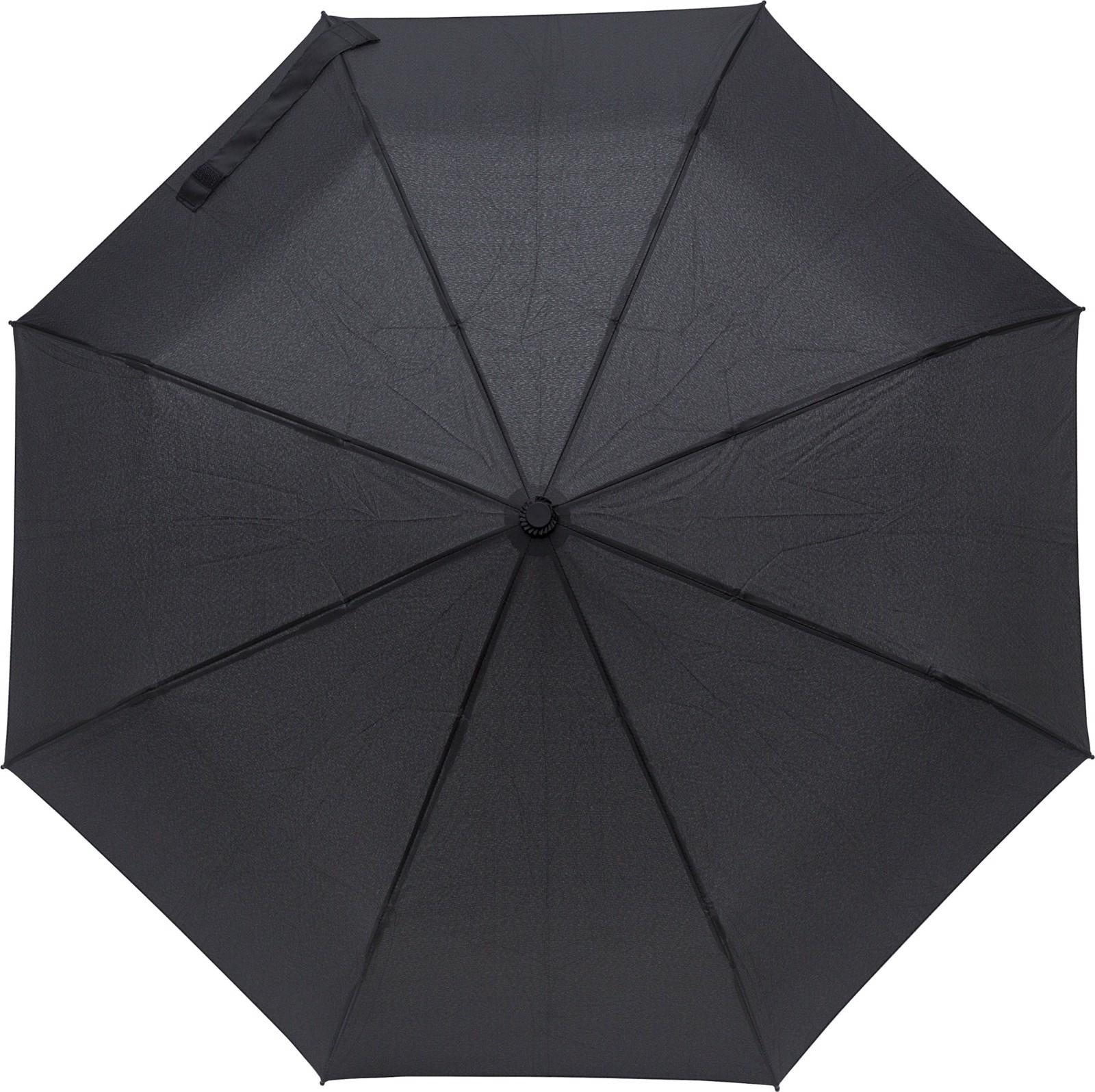 Pongee (190T) umbrella - Black