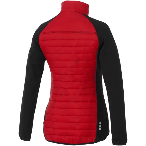 Banff hybrid insulated ladies jacket - Red / L