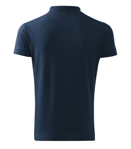 Polo Shirt Gents Malfini Cotton Heavy - Navy Blue / L