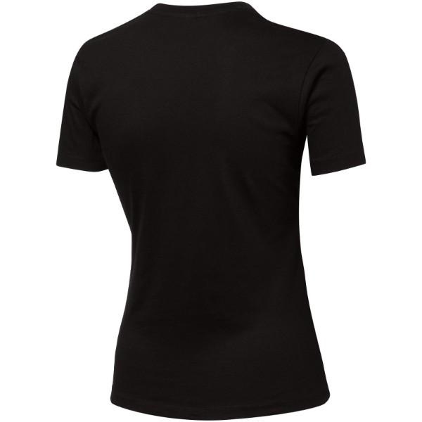 Ace short sleeve women's t-shirt - Solid black / L