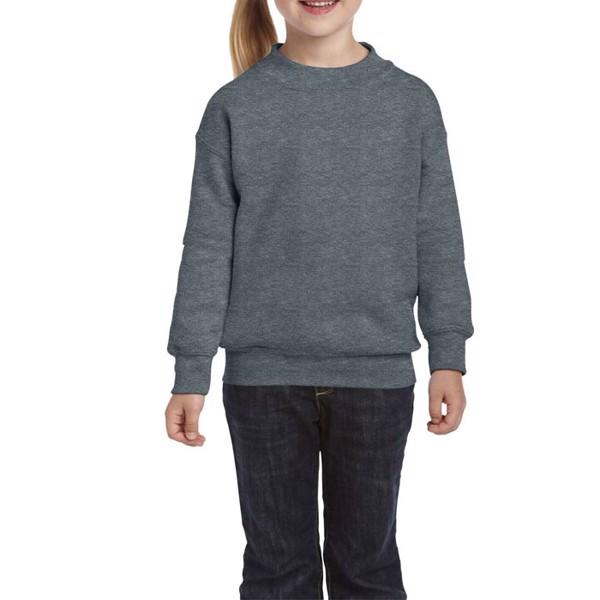 Kids Sweatshirt 255/270 g/m Youth Crew Neck 18000B - Dark Heather / XL