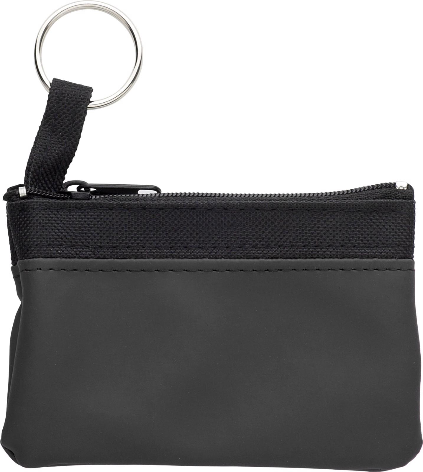 Nylon (600D) key wallet - Black