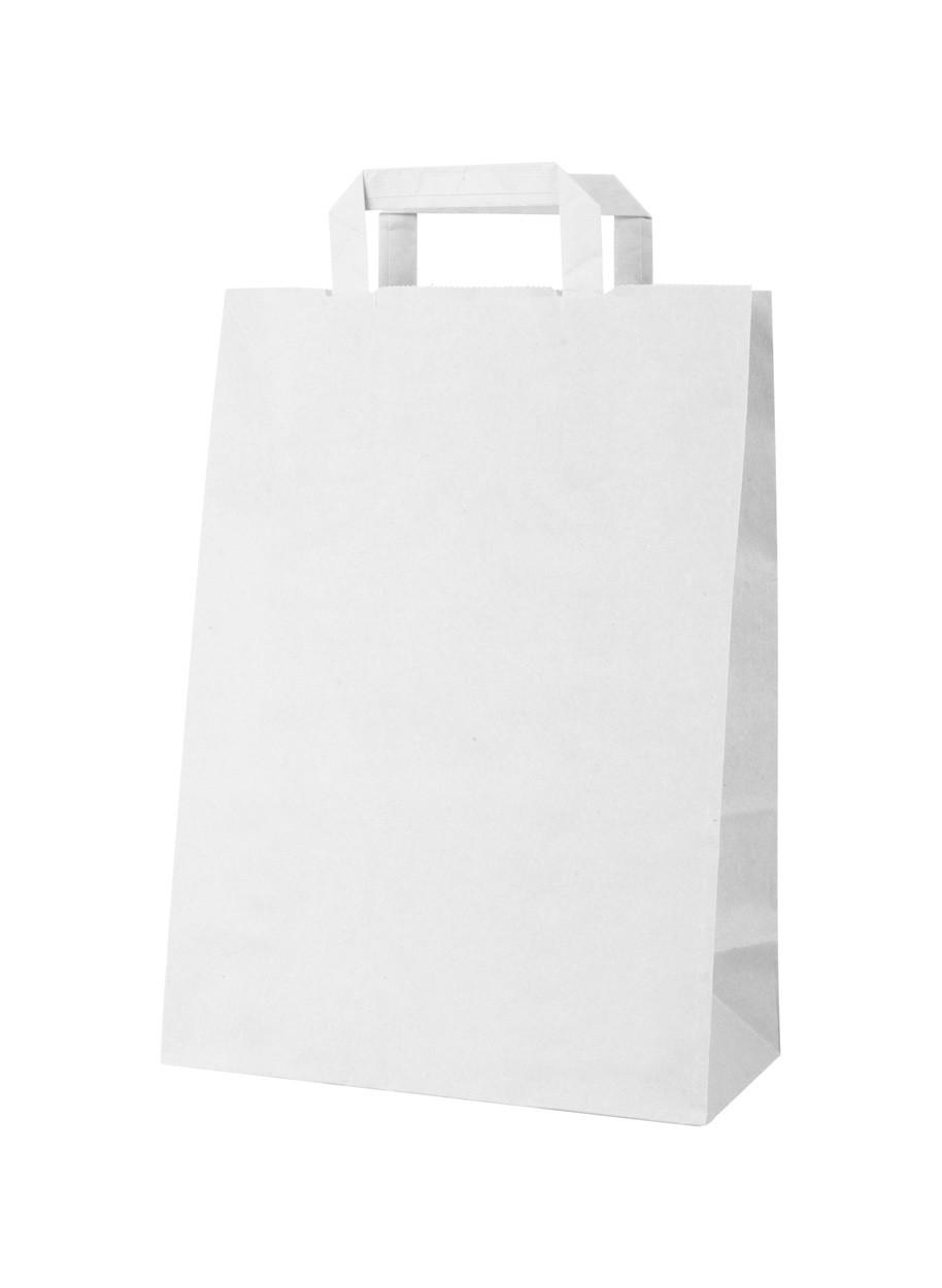 Papírová Taška Market - Bílá