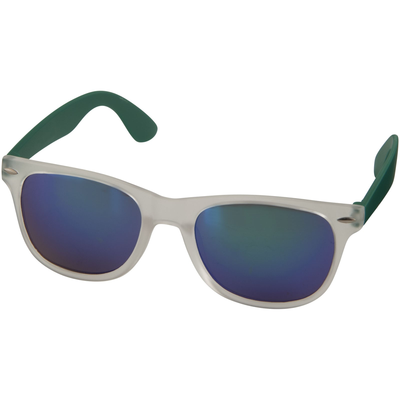Sun Ray sunglasses with mirrored lenses - Green
